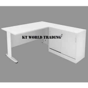 KT-PS6A OFFICE TABLE WRITING TABLE side cabinet OFFICE FURNITURE MALAYSIA SELANGOR SHAH ALAM KUALA LUMPUR PETALING JAYA