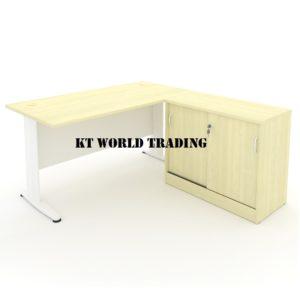 KT-PS6A OFFICE TABLE WRITING TABLE side cabinet OFFICE FURNITURE Malaysia SHAH ALAM KUALA LUMPUR PETALING JAYA