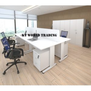 KT-PW17A(WC+J) office partition workstation office furniture Malaysia shah alam kuala lumpur klang valley