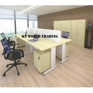 KT-PW17A(WC+J) office partition workstation office furniture malaysia selangor shah alam kuala lumpur klang valley