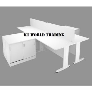 KT-PW27A office partition workstation office furniture Malaysia shah alam kuala lumpur klang valley
