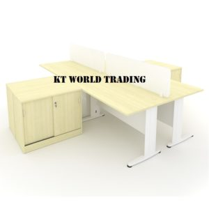KT-PW27B office partition workstation office furniture malaysia selangor shah alam kuala lumpur klang valley
