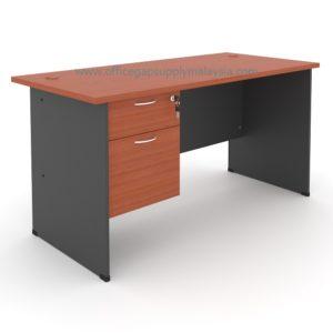 Rectangular Office Table (Wooden Leg) Model : MP120WT-FP2 MALAYSIA KUALA LUMPUR SHAH ALAM KLANG VALLEY