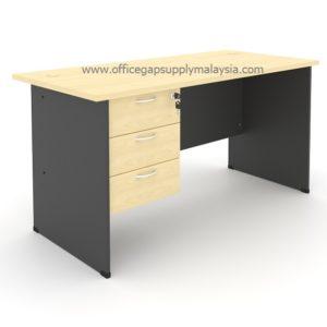 Rectangular Office Table (Wooden Leg) Model : MP120WT-FP3 MALAYSIA KUALA LUMPUR SHAH ALAM KLANG VALLEY