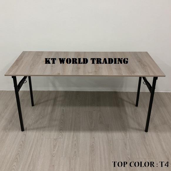 RECTANGULAR FOLDING TABLE COLOR T4 office furniture malaysia kuala lumpur shah alam klang valley
