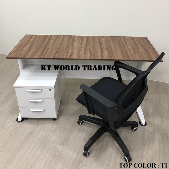 RECTANGULAR OFFICE TABLE SET COLOR T1 INSIDE VIEW office furniture malaysia kuala lumpur shah alam kalng valley