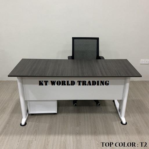 RECTANGULAR OFFICE TABLE SET COLOR T2 office furniture malaysia kuala lumpur shah alam klang valley