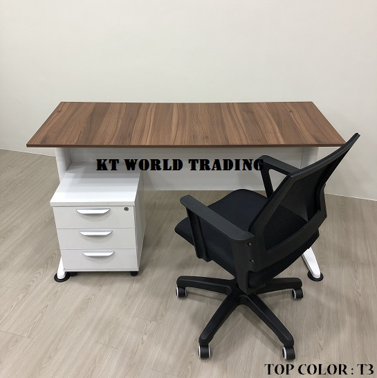 RECTANGULAR OFFICE TABLE SET COLOR T3 INSIDE VIEW office furniture malaysia kuala lumpur shah alam klang valley