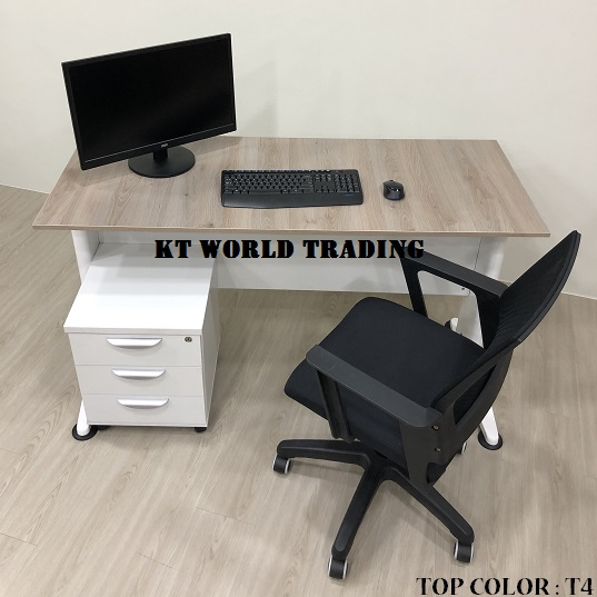 RECTANGULAR OFFICE TABLE SET COLOR T4 INSIDE VIEW office furniture malaysia kuala lumpur shah alam klang valley