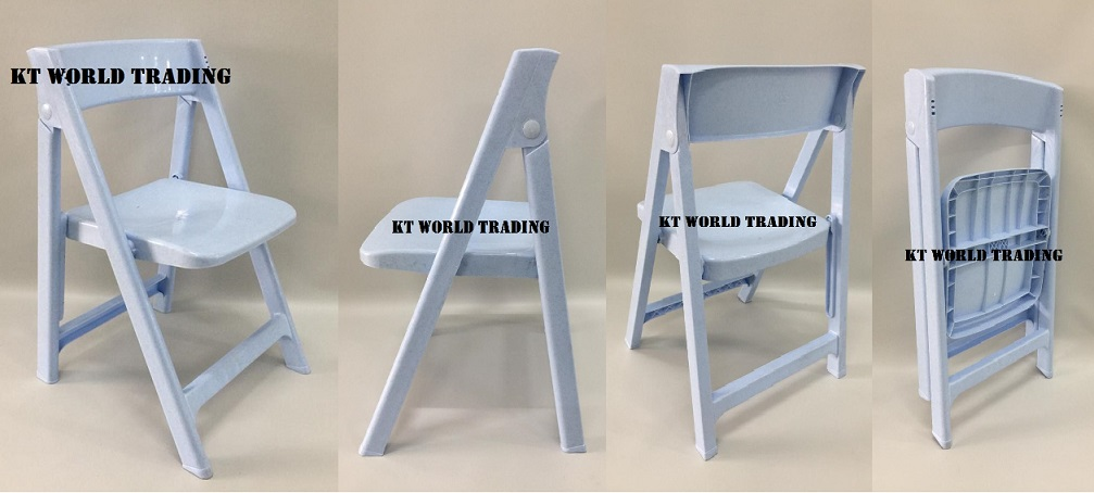 foldable plastic chair mable blue combination office furniture malaysia kuala lumpur shah alam klang valley