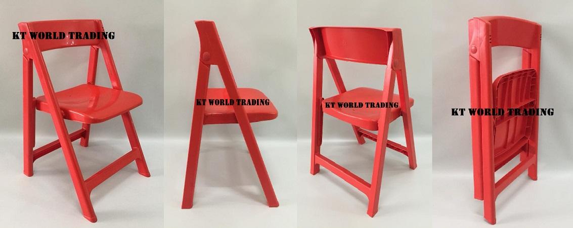 foldable plastic chair red combination foldable plastic chair mable blue combination office furniture malaysia kuala lumpur shah alam klang valley