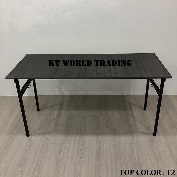 RECTANGULAR FOLDING TABLE COLOR T2 office furniture malaysia kuala lumpur shah alam klang valley