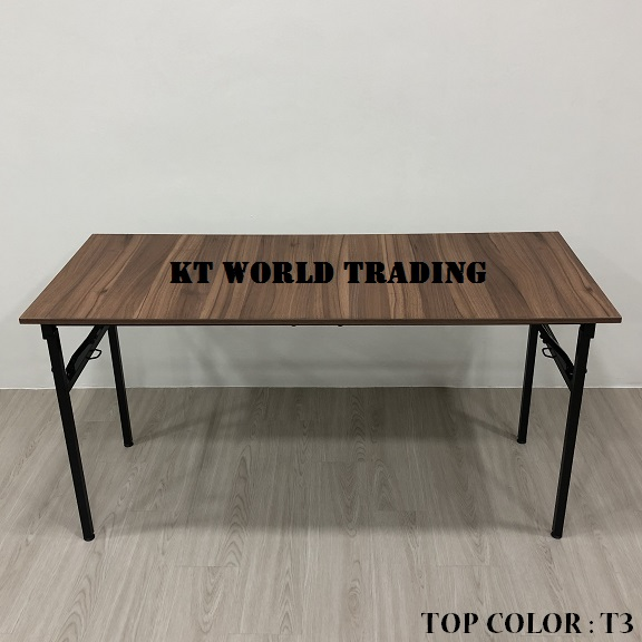 RECTANGULAR FOLDING TABLE COLOR T3 office furniture malaysia kuala lumpur shah alam klang valley