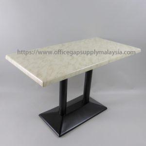 RECTANGULAR BAR TABLE RECTANGULAR POWDER COATED LEG office furniture malaysia kuala lumpur shah alam klang valley