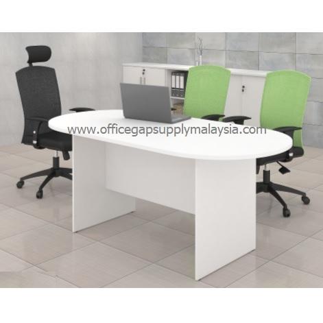 6ft Oval Conference Table Model KT-MO180&240 MALAYSIA KUALA LUMPUR SHAH ALAM KLANG VALLEY